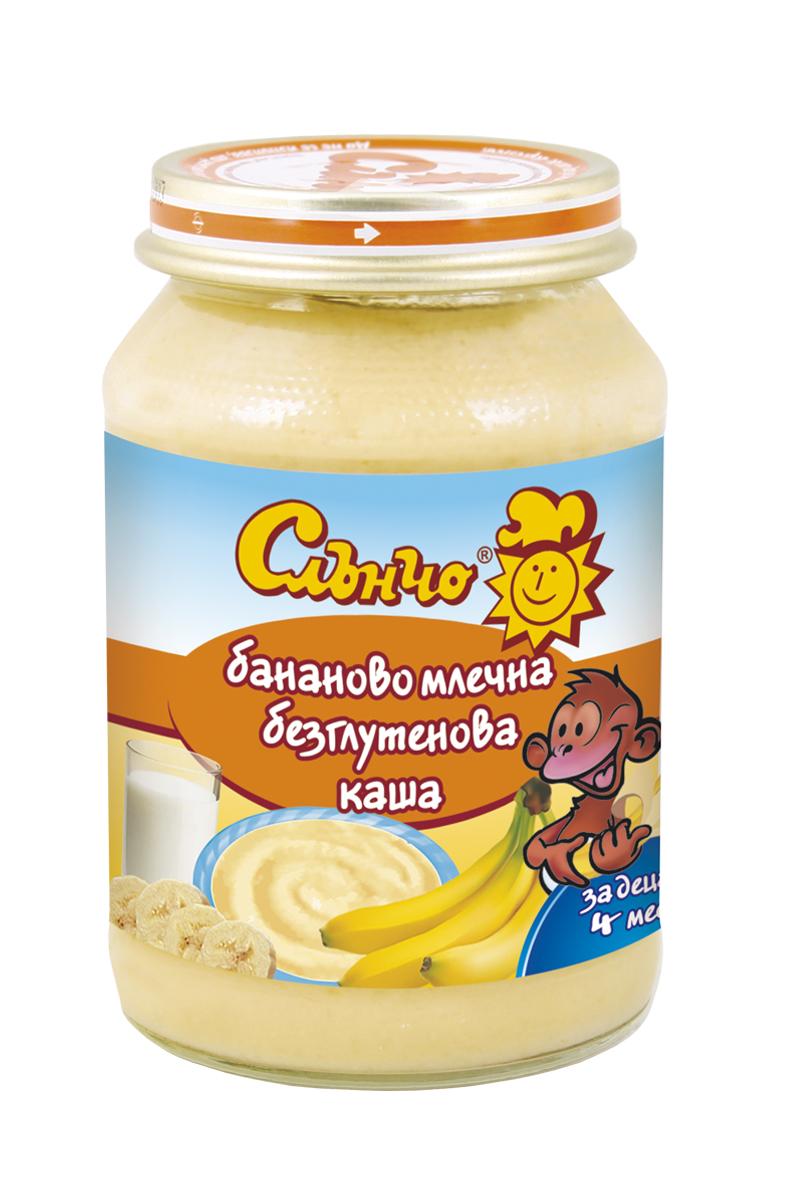 Бананова млечна каша