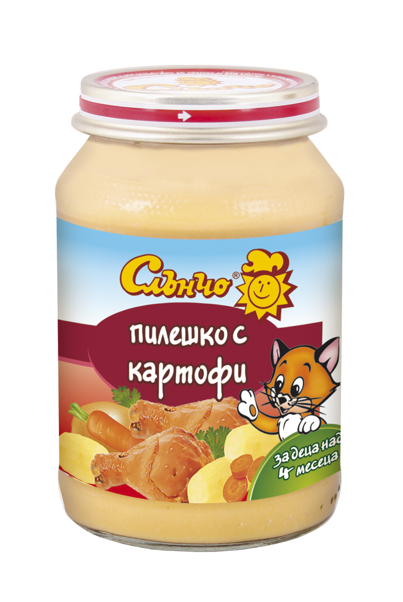 Пилешко с картофи