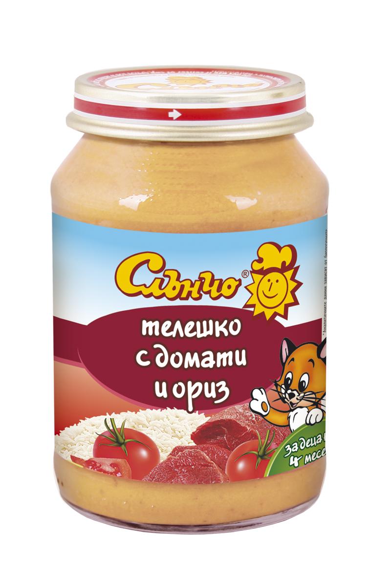 Телешко с домати и ориз