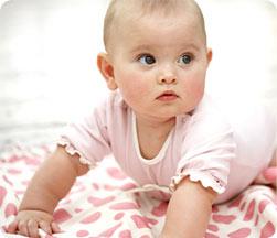 Бебето на шест месеца