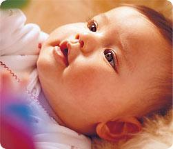 Бебето на четири месеца