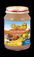 bananov krem s kakao